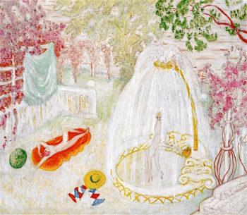 Bathers   Florine Stettheimer   oil painting