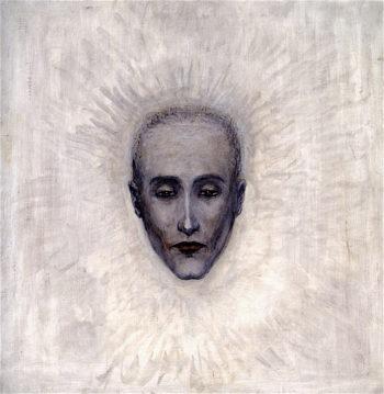 Portrait of Marcel Duchamp   Florine Stettheimer   oil painting