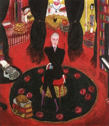 Portrait of Carl van Vechten | Florine Stettheimer | oil painting