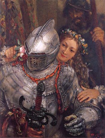 Blind Mans Bluff | Adolph von Menzel | oil painting