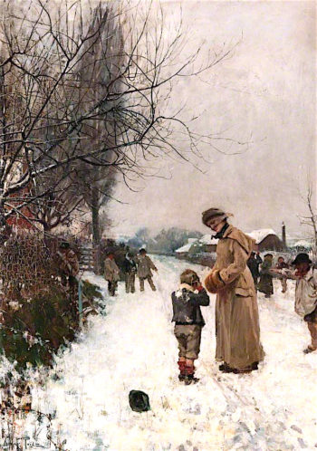 A Friend in Need | John Robertson Reid | oil painting