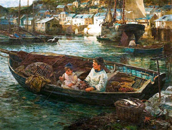 Little Cornish Fishermen