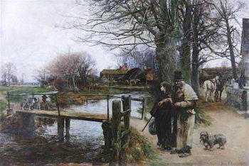The Blind Fiddler | John Robertson Reid | oil painting