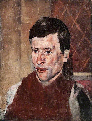 Head and Shoulders of an Artisan   John Quinton Pringle   oil painting