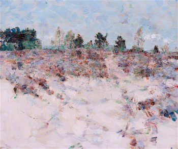 Sand and Trees | John Quinton Pringle | oil painting