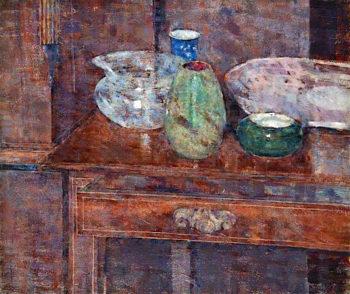 Still Life on a Table | John Quinton Pringle | oil painting