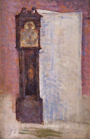 The Grandfather Clock | John Quinton Pringle | oil painting