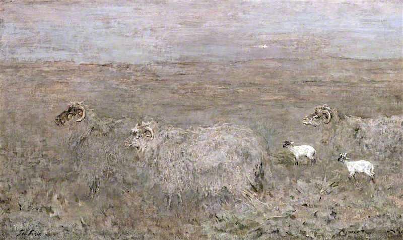 Hill Ewes | Sir George Pirie | oil painting