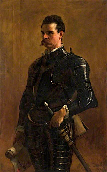 A Knight of the Seventeenth Century | John Pettie