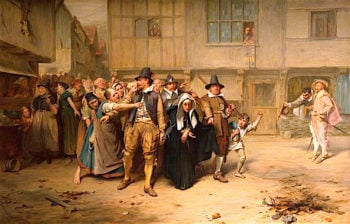 An Arrest for Witchcraft in the Olden Time | John Pettie