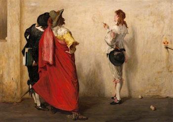 Ho! Ho! Ho! Old Noll | John Pettie
