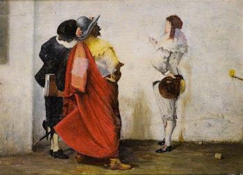 Ho! Ho! Old Noll! | John Pettie