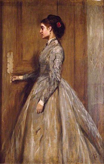 Portrait of the Artists Wife | John Pettie