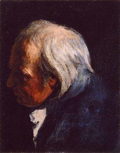 Study of the Head of the old Lieutenant | John Pettie
