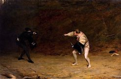 Sword and Dagger Fight | John Pettie