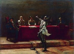 Terms to the Besieged | John Pettie