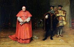 The Disgrace of Cardinal Wolsey | John Pettie
