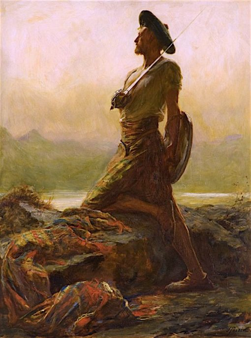 The Highland Outpost | John Pettie