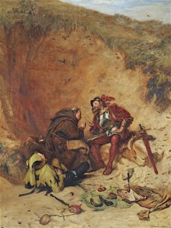 The Jesters Merry Thought   John Pettie