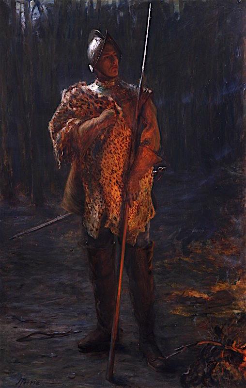 The Sentinel   John Pettie