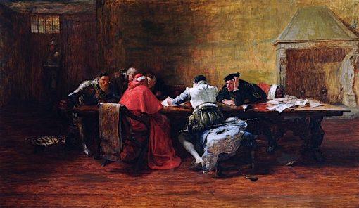 Treason | John Pettie