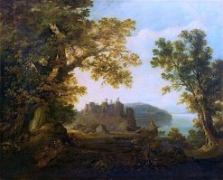 Conway Castle | John Thomson | oil painting