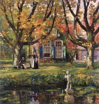 My Garden | Gari Melchers | oil painting