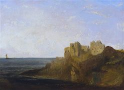 Castle on the Coast | John Thomson | oil painting