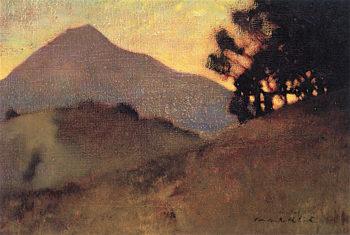 Tamalpais Sunset | Charles Rollo Peters | oil painting