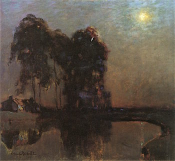 Nocturne | Charles Rollo Peters | oil painting