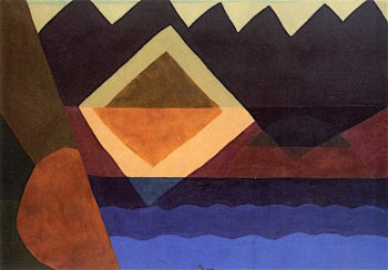Square on the Pond | Arthur Dove | oil painting