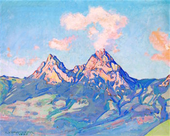 The Mythen | Charles l'Eplattenier | oil painting