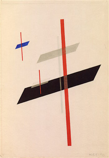 Planes Cutting Planes | Laszlo Moholy-Nagy | oil painting