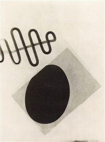 Photogram | Laszlo Moholy-Nagy | oil painting