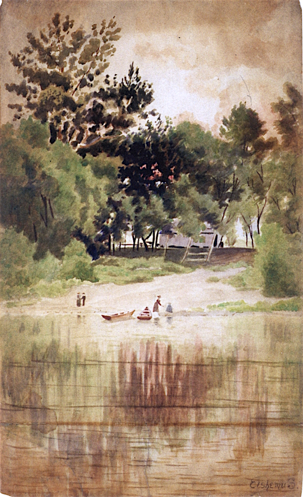 Late Afternoon Summer   Louis M. Eilshemius   oil painting