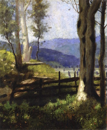 Edge of Wood | Louis M. Eilshemius | oil painting
