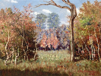 Autumn Landscape | Louis M. Eilshemius | oil painting