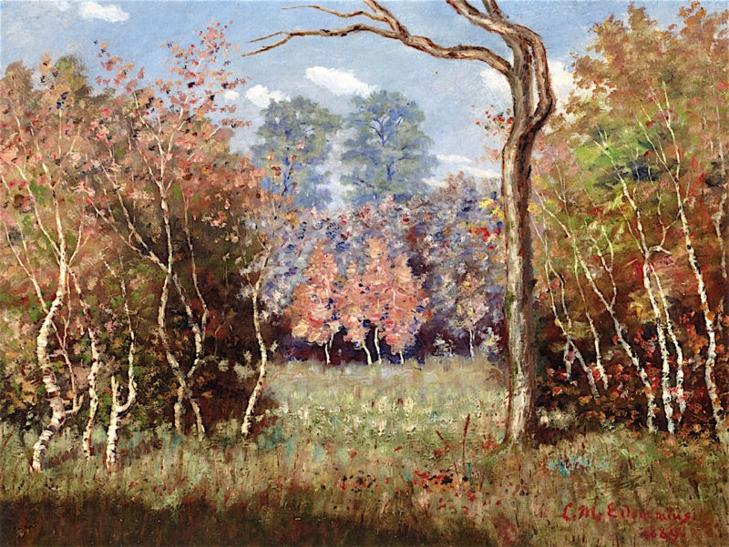 Autumn Landscape | Louis M. Eilshemius | oil painting