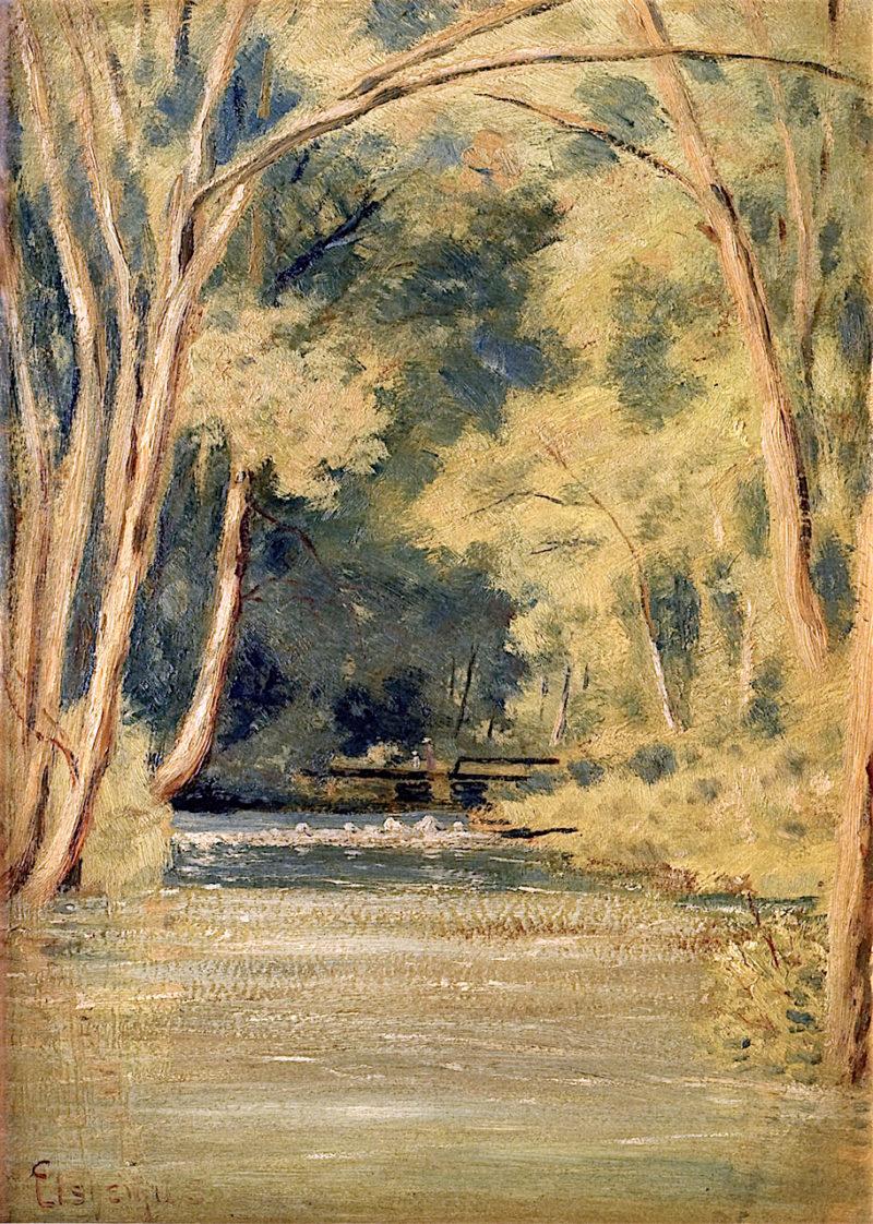 Forest Brook | Louis M. Eilshemius | oil painting