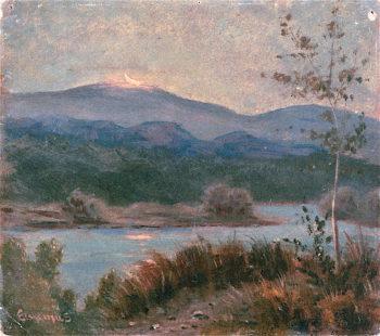 Quarter Moon | Louis M. Eilshemius | oil painting