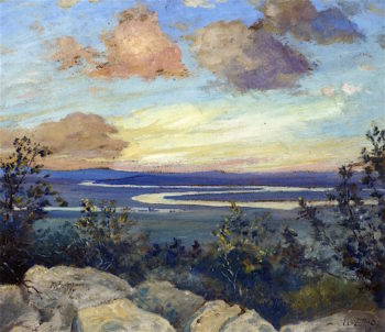 Meandering River | Louis M. Eilshemius | oil painting