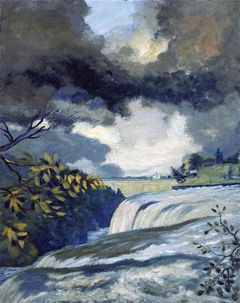 Niagara Falls | Louis M. Eilshemius | oil painting