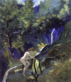 Nude Ascending | Louis M. Eilshemius | oil painting