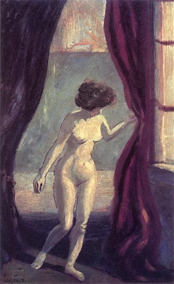 In the Studio | Louis M. Eilshemius | oil painting