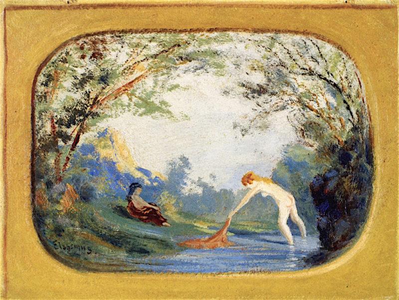 Bathers | Louis M. Eilshemius | oil painting