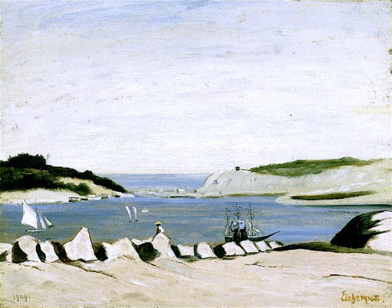 Coast Scene | Louis M. Eilshemius | oil painting