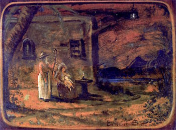 The Holy Family | Louis M. Eilshemius | oil painting