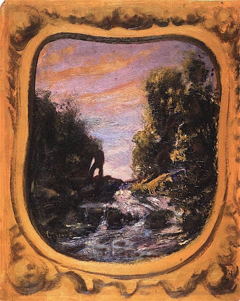 Mountain Stream | Louis M. Eilshemius | oil painting
