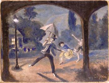 Vaudeville | Louis M. Eilshemius | oil painting