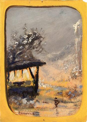 Summer House | Louis M. Eilshemius | oil painting